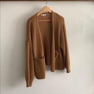 Wool blend Madewell Sweater Camel